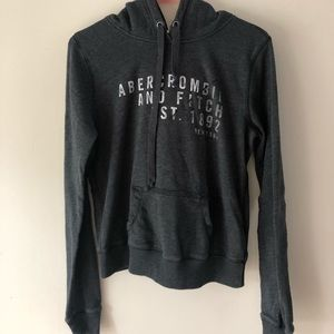 Navy Abercrombie and Fitch hoodie